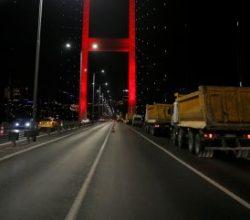 15 Temmuz Şehitler Köprüsü'nde yenileme başladı