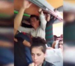 45 kişilik otobüste 70 kişi şehirlerarası yolculuk