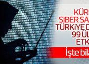 99 ülkeyi etkileyen küresel siber saldırının bilançosu
