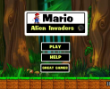 Mario Alien Invaders