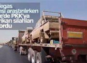 ABD'nin Suriye'de PKK'ya yardımları görüntülendi