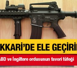 ABD ve İngiltere'nin en çok kullandığı silah PKK'da ele geçirildi