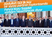 Abdullah Gül Saadet'in organize ettiği D-8'e katıldı