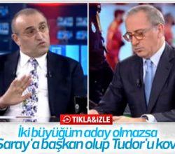 Abdurrahim Albayrak: Başkan olursam Tudor'u kovarım