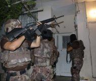 Adana'da 500 polisle terör operasyonu