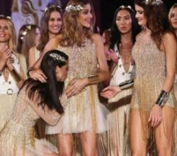 Adriana Lima'dan Barros'a 'bebek' öpücüğü