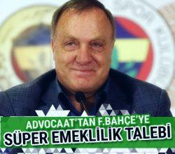 Advocaat'tan Fenerbahçe'ye süper emeklilik talebi