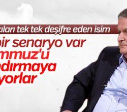 Ahmet Zeki Üçok: FETÖ'cüler yeni bir senaryo sahneliyor