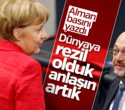 Alman basını siyasilere baskı yapıyor