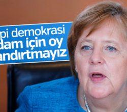 Alman hükümeti: İdam referandumuna izin vermeyiz