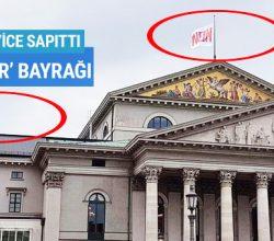 Almanya Bavyera Opera Binasına 'Hayır' bayrağı dikti!