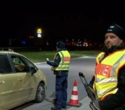 Almanya- Fransa sınırında güvenlik önlemleri artırıldı