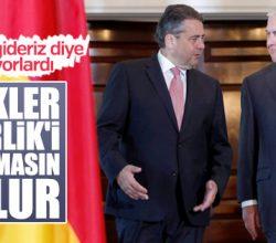 Almanya'nın ABD'den Türkiye isteği