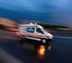 Ankara'da zincirleme kaza: 1 yaralı