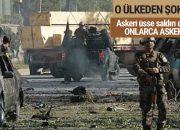 Askeri üsse saldırı! 50'den fazla ölü