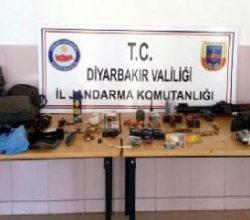 Askerleri gören PKK'lılar silahlarını bırakıp kaçtı