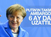 Avrupa Birliği Rusya'ya yaptırımları uzatıyor