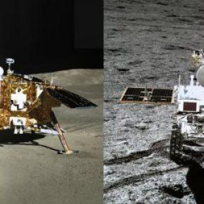 Ay'ın diğer tarafına gönderilen aracın gönderdiği fotoğraflar