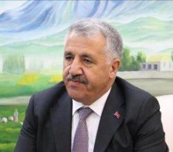 Bakan Arslan: Yüz bin kişilik ulaştırma ailesi görevde