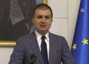 Bakan Ömer Çelik'ten AP'nin kararına tepki