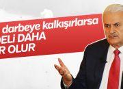 Başbakan'dan FETÖ'cülere sert çağrı
