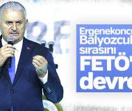 Başbakan Ergenekon-Balyoz-FETÖ üçlüsüne dikkat çekti