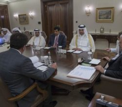 Başbakan, Katar Ekonomi Bakanını kabul etti