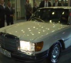Başbakan Yıldırım klasik otomobile bindi
