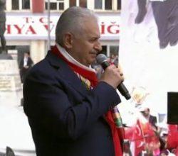 Başbakan Yıldırım Kütahya'da