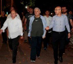 Başbakan Yıldırım Vietnam'da yürüyüş yaptı