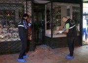 Beşiktaş'ta yüzleri maskeli 5 kişi kuyumcu dükkanı soydu