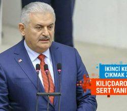 Binali Yıldırım'dan Kılıçdaroğlu'na sert cevaplar