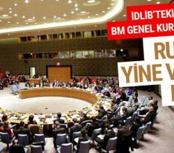 BM'nin Suriye tasarısına Rusya'dan veto
