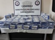 Çanakkale'deki kokain operasyonu