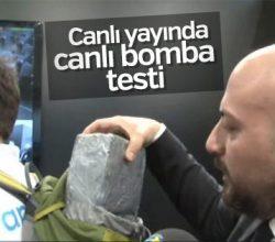 Canlı bombayı 10 metreden tarayan dedektör