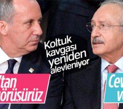 CHP'de Kılıçdaroğlu-İnce kavgası yaklaşıyor