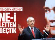 CHP Meclis'ten çekilmiyor
