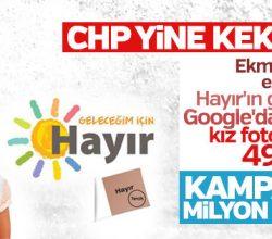 CHP'nin Google'dan bulduğu kız fotoğrafı