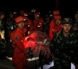 Çin'de 7 büyüklüğündeki depremin bilançosu