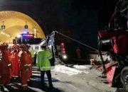 Çin'de feci kaza: 36 ölü, 13 yaralı