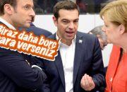 Çipras'ın Merkel'e yalvardığı anlar