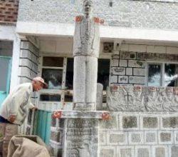 Çoban heykeltraş 27 yıldır granite hayat veriyor