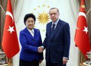 Cumhurbaşkanı Çinli Başbakan Yardımcısı'nı kabul etti