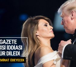 Daily Mail, Melanie Trump'tan özür diledi