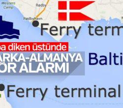Danimarka ile Almanya arasındaki feribot seferleri durdu