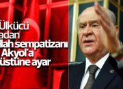 Devlet Bahçeli'den Taha Akyol'a salvolar
