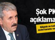 Devletin orada ne kadar kurumu varsa PKK… BBP lideri açıkladı