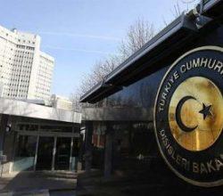 Dışişleri Bakanlığı Afganistan'daki saldırıyı kınadı