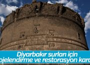 Diyarbakır surları için restorasyon kararı alındı