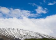 Doğu Anadolu'da bahar karı